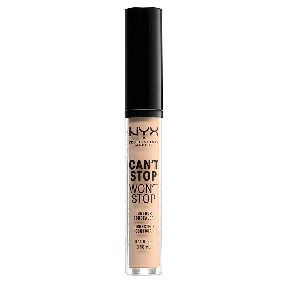NYX PROFESSIONAL MAKEUP Can't Stop Won't Stop Contour Concealer - Vanilla, With Neutral Undertone : Beauty