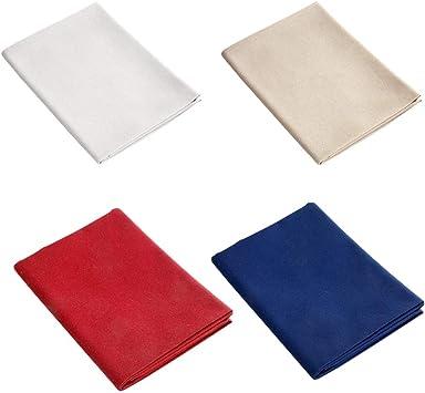 lafyHo 4pcs algodón de Lino de la Costura Tejido paño Algodón de Lino Liso Color sólido Bordado de Tela del paño Accesorios de la Ropa Crafts: Amazon.es: Electrónica