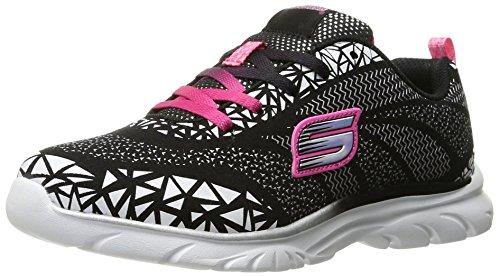 Skechers Mädchen Nebula Sneakers Black (Black/White/Pink)
