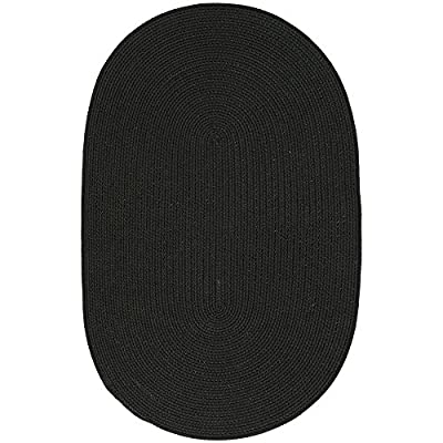 "Safavieh MSJ2121E-24 Martha Stewart Collection Handmade Ebony Oval Area Rug, 2' 6 "" x 3' 10 "" Oval"