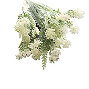 YJYdada Artificial Fake Flowers Milan Flower Floral Wedding Bouquet Home Decor 19