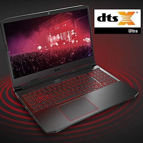 Acer Nitro 5 Gaming Laptop, 10th Gen Intel Core i5-10300H,NVIDIA GeForce GTX 1650 Ti, 15.6″ Full HD IPS 144Hz Display, 8GB DDR4,256GB NVMe SSD,WiFi 6, DTS X Ultra,Backlit Keyboard,AN515-55-59KS 511yJZOXNhL
