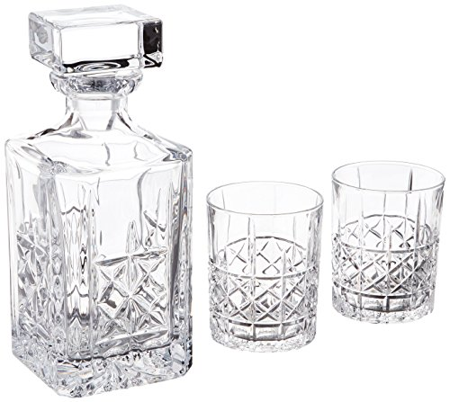 Marquis by Waterford Brady Decanter & DOF Pair, Clear (32 Ounce Decanter)