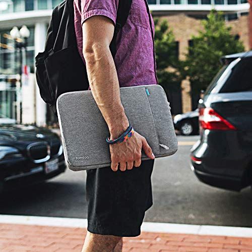 tomtoc 360° Protective Laptop Sleeve Compatible with13 inch New MacBook Pro A1989 A1706 A1708 USB-C | Dell XPS 13, Notebook Bag Case 13'' with Accessory Pocket & CornerArmor Patent by tomtoc (Image #6)