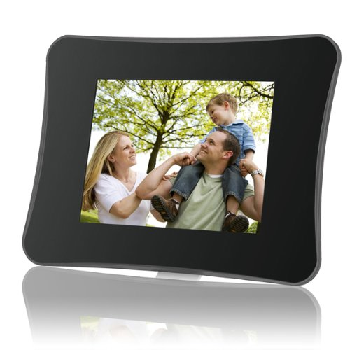Coby DP850-1G 8-Inch Digital Photo Frame with MP3 Player (Black) by Coby
