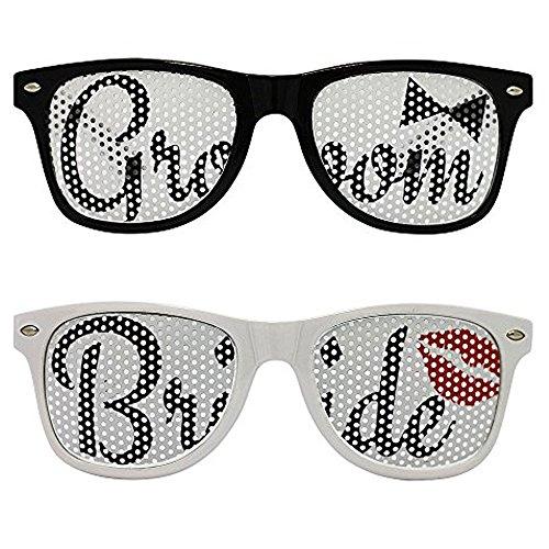 Chades Wedding Bride Groom Sunglasses product image