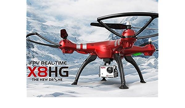 WayIn® 2016 Nuevo Modelo de Syma X8HG sin cabeza RC Quadcopter con ...