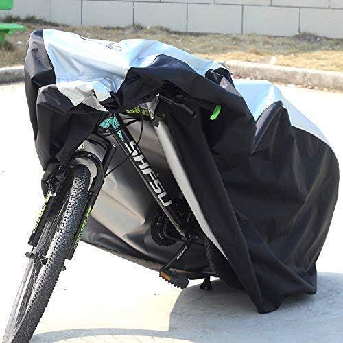 KOKOMALL Funda De Bici Impermeable Cubierta De Bicicleta Bloqueable Ligero Protecci/ón UV