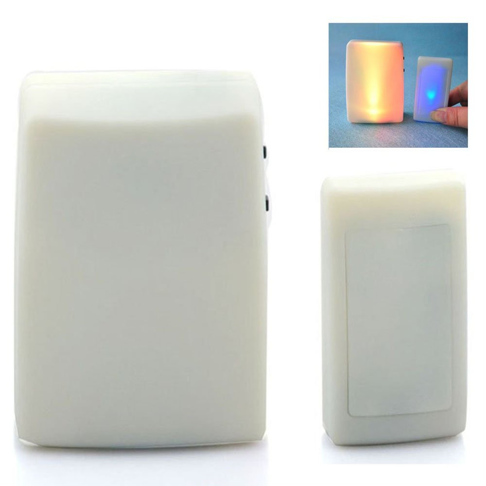 Anpress 7 Color Lights Flash + Music Doorbell, Wireless Doorbell, The Deaf/Hard of Hearing Favorite, Music Can Be Changed CECOMINOD083095