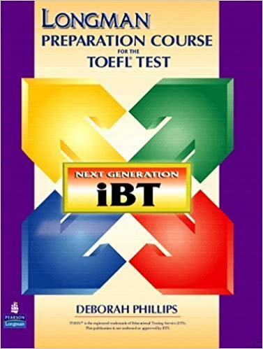 Ebook-Download für iPad 2 Longman Preparation Course for the TOEFL(R) Test: Next Generation (iBT) with CD-ROM and Answer Key (Longman Preparation Course for the Toefl With Answer Key) by Deborah Phillips (2005-07-25) PDF