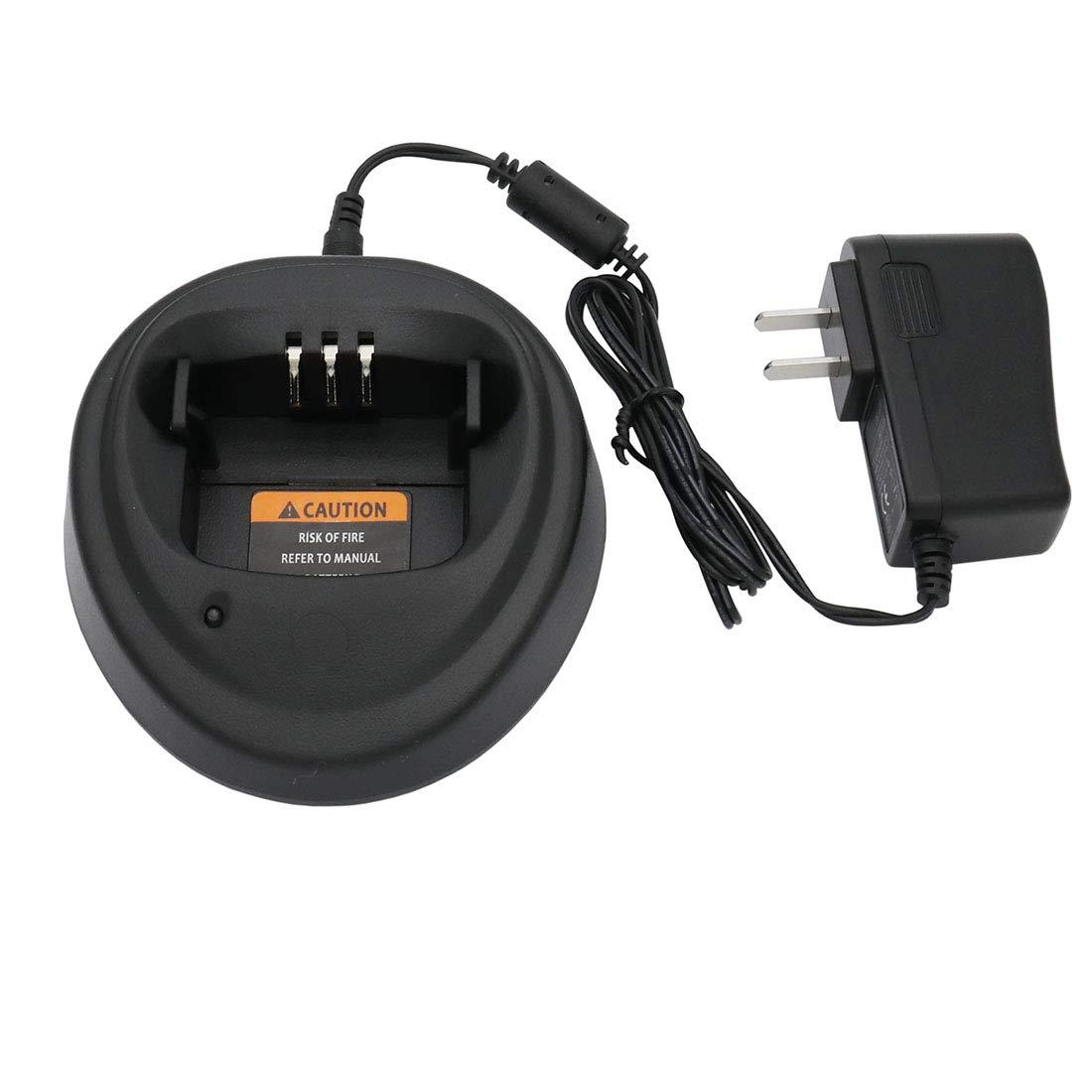 Karier Ni-MH Ni-CD Li-ion Battery Charger for Motorola CP040 CP140 CP150 CP160 CP180 CP340 CP360 CP380 EP450 GP3138 GP3688 PR400 NNTN4496 NNTN4851A