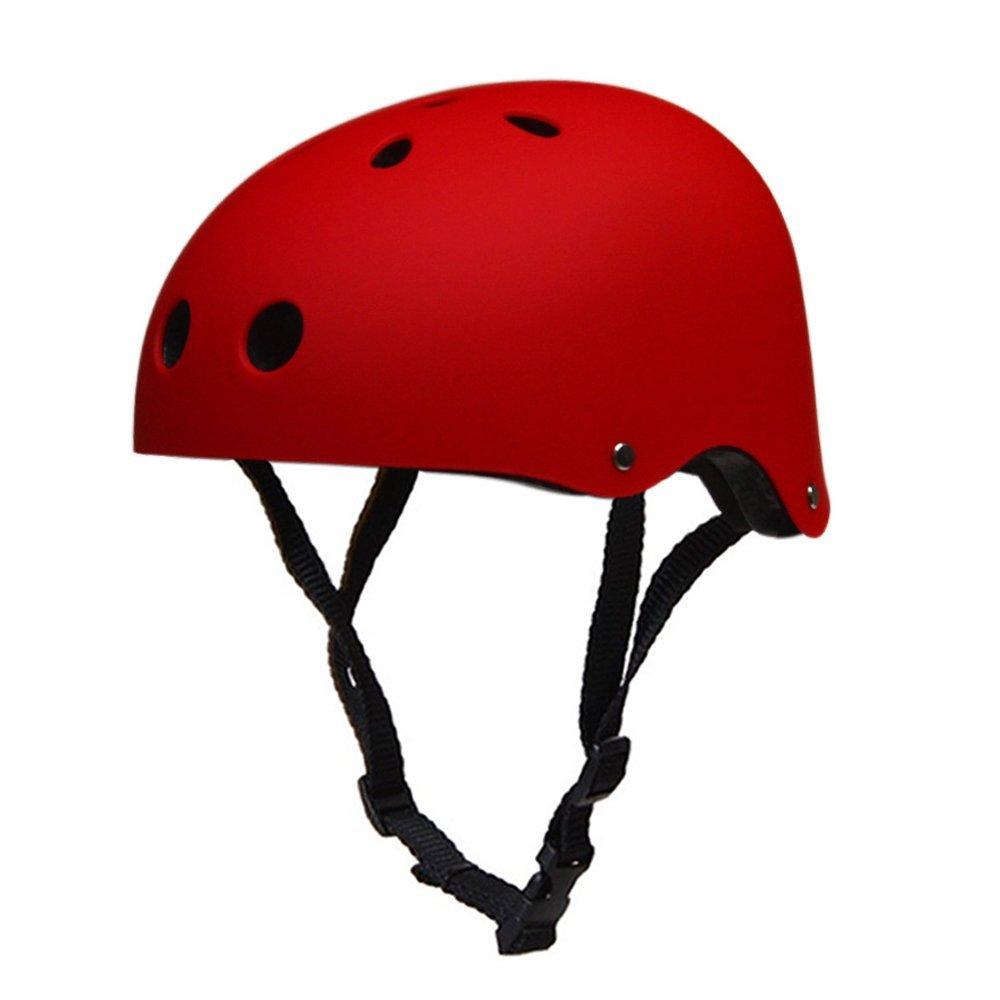 好評 Sunki元クラシックCommuterバイクスケート保護ヘルメット調整可能CPSC Certifiedスケートボード/スキー Kids/スケート/ローラースケートヘルメットギアfor L|レッド Kids レッド Youth大人用 B01FS7PG30 L|レッド レッド L, アーミノグチ:b9d8c7e5 --- a0267596.xsph.ru