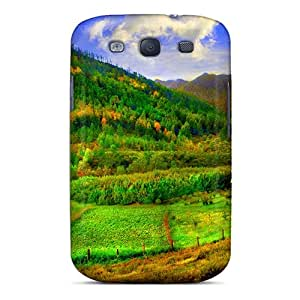 New Arrival Galaxy S3 Case Mountain Valley Case Cover