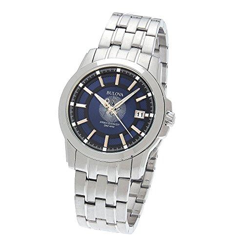 Men's Stainless Steel Bulova Precisionist Freemason Masonic Blue Lodge Watch Stainless Steel Masonic Watch