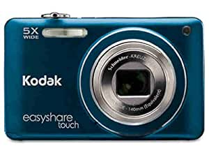 Kodak Easyshare Touch M5370 16 MP Digital Camera with 5x Optical Zoom, HD Video Capture and 3.0-Inch Capacitive Touchscreen LCD (Blue)