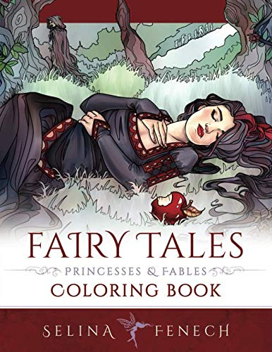 Fairy Tales, Princesses, and Fables Coloring Book (Fantasy Coloring by ()