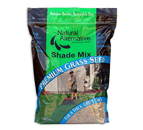 Natural Alternative Grass Seed for Shady Areas 3 lb. (14003 - Made in The Shade)