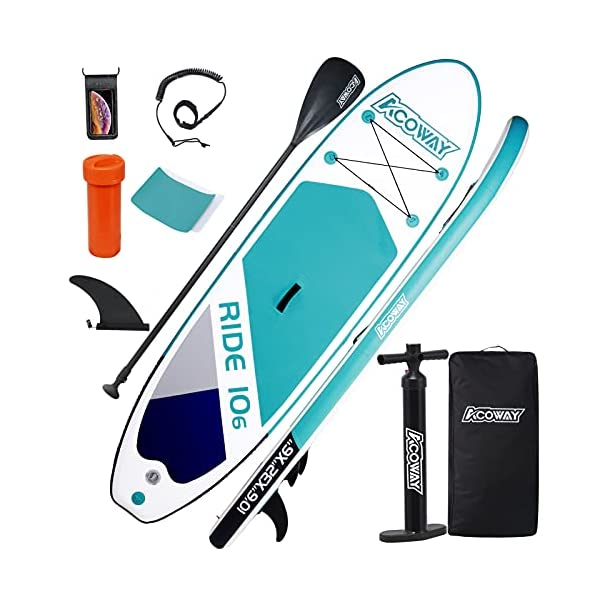Acoway Paddle Board with Accessories   Sub Boards 