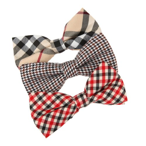 DBE0106 Collection Pre-Tied Bow Tie Gift Idea for Fashion 3 Package Set Dan Smith