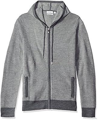 Calvin Klein Men's Merino Twill Stitch Hoodie