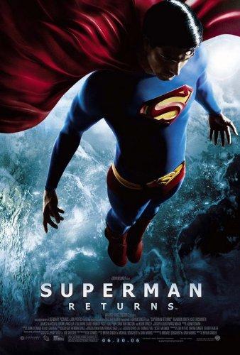 Superman Returns cartel Original de la película (Brandon ...