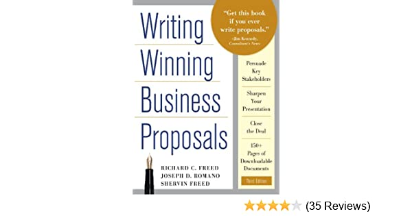 Amazon writing winning business proposals third edition amazon writing winning business proposals third edition ebook richard c freed shervin freed joe romano kindle store fandeluxe Images
