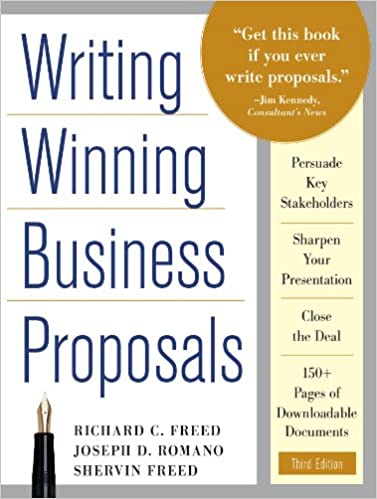 AmazonCom Writing Winning Business Proposals Third Edition