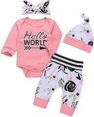 09004c520 OUTGLE Newborn Baby Girl Pink Polka Dot Romper ...