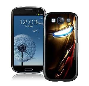Iron man 5 Black Cool Photo Custom Samsung Galaxy S3 I9300 Phone Case
