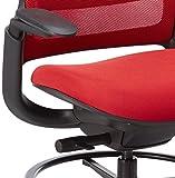 Steelcase Series 1 Office stool, Scarlet