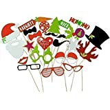 [USA-SALES] Christmas Photo Booth Props Attached to the Sticks, NO DIY REQUIRED, Christmas Gifts, Photo Masks by USA-SALES Seller