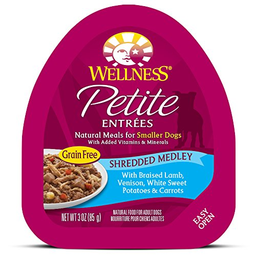 Wellness Petite Entrees Shredded Medley Grain Free Natural W