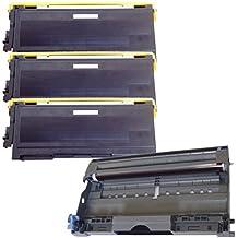 (1 Drum + 3 Toner) Inktoneram® Replacement toner cartridges & drum for Brother TN350 DR350 Toner Cartridges & Drum replacement for Brother DR-350 TN-350 Set HL-2030 HL-2040 HL-2070N DCP-7020 IntelliFax 2820 2910 2920 MFC-7220 MFC-7225N MFC-7820N MFC-7420