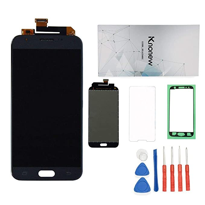 KNONEW Screen Replacement for Samsung J3 2017 Prime SM-J327 J327T1 J327T  J327V Glass LCD Display Touch Digitizer Assembly +Tools