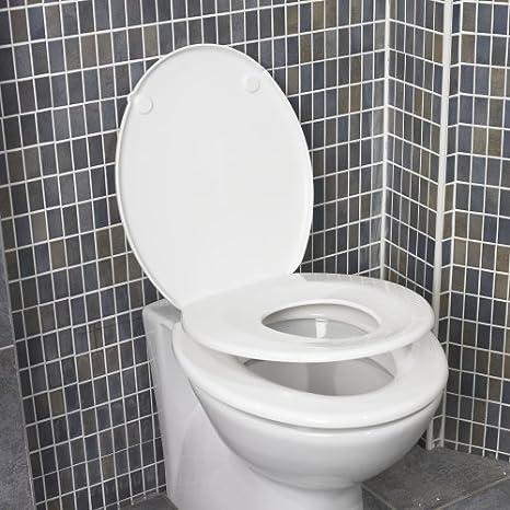 Family Seat Georgia Toilet Seat - All In One Adult & Child Toilet Seat