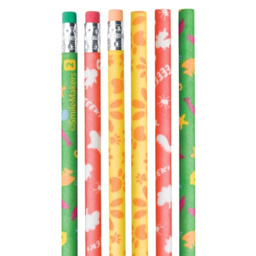 Fuzzy Animals & Bugs Pencils - 50 per pack