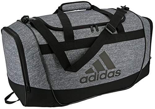 adidas Defender II Small Duffel Bag, Small, Jersey Onix/Black/Light Onix