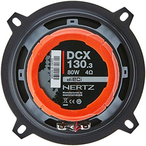 Hertz Dcx130 3 Koaxiale Autolautsprecher Schwarz Elektronik
