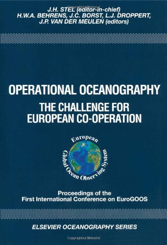 Operational Oceanography: The Challenge for European Co-operation (Elsevier Oceanography Series)