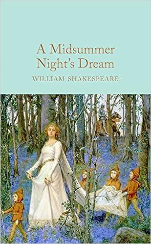 Amazon A Midsummer Nights Dream Macmillan Collectors Library