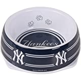 Sporty K9 New York Yankees Dog Bowl, Large, My Pet Supplies