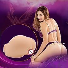 ZYooh 3D Realistic Male Masturbator Vagina Pocket Pussy Masturbation Adult Sex Doll Vagina Lifelike Sexy Real Full Silicone Solid Love Toy for Men