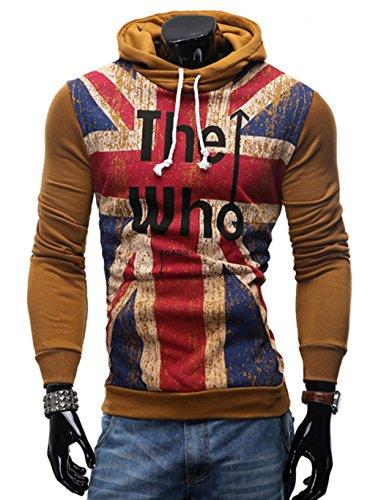 british khaki mens sweaters - 6
