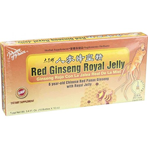 Ginseng Royal Jelly 10x10cc Chinese product image