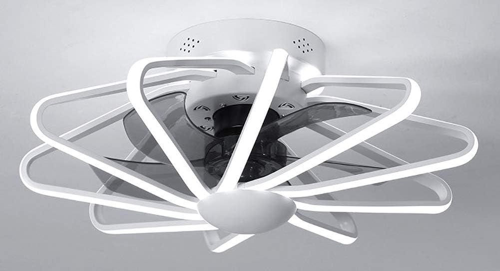 Ventilador de techo con luz, LED de control remoto ventilador regulable de iluminación con 3 modos, 22