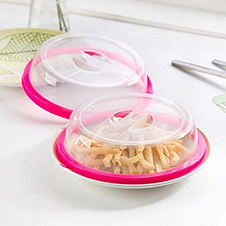 genmine tapa para alimentos microondas placa, plato cubierta ...