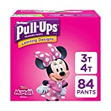 Pull-Ups Learning Designs Potty Training Pants for Girls, 3T-4T (32-40 lb.), 84 Ct. (Packaging May Vary)