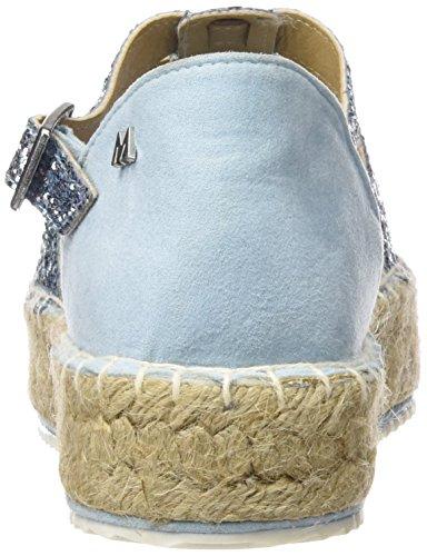 MM 66271 - Zapatos de vestir para mujer Glitter azul