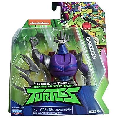 Teenage Mutant Ninja Turtles Nickelodeon Rise of The TMNT Shredder Armored Annhilator, Purple: Toys & Games