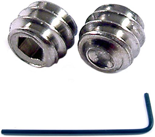 4-40 x 1//4 Socket Set Screws Cup Point Stainless Steel 10 Pack with .050 Hex Key Wrench 1//4 Length